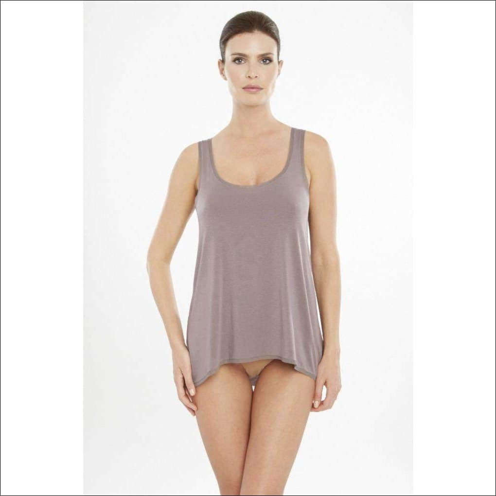 Addiction Douceur Trapeze Top - Taupe / Xs - Top Lingerie Theory Lingerietheory.com