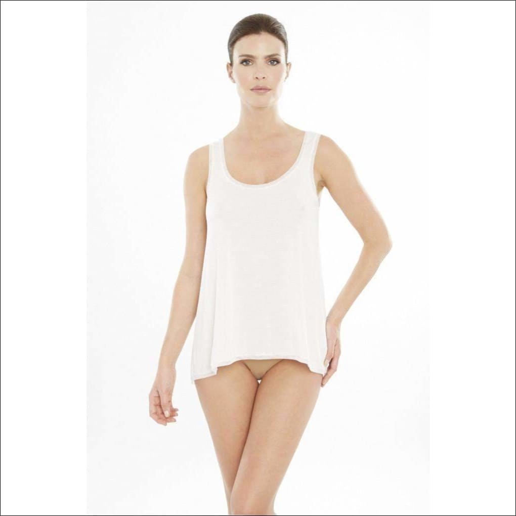 Addiction Douceur Trapeze Top - White / Xs - Top Lingerie Theory Lingerietheory.com