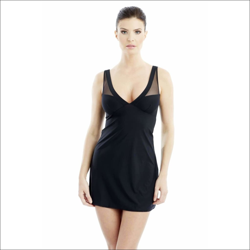 Addiction Lingerie Chemise - Black / Xs - One Piece Lingerie Theory Lingerietheory.com