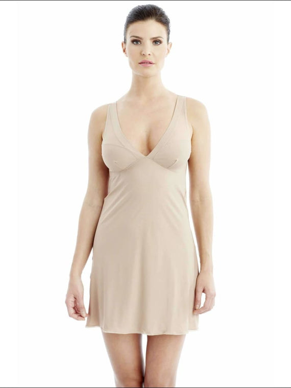 Addiction Lingerie Chemise - Nude / Xs - One Piece Lingerie Theory Lingerietheory.com