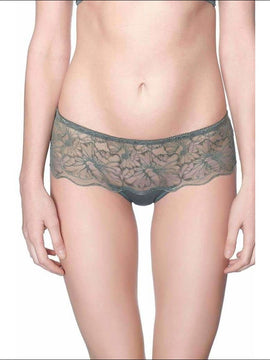 Addiction Lingerie Fashion Collection Sugar Daddy Shorty - Green / S - Bottom Lingerie Theory Lingerietheory.com