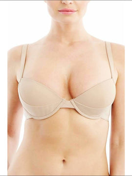 Addiction Nouvelle Lingerie - Basic Collection - Push Up Bra - Nude / 30A - Bra Lingerie Theory Lingerietheory.com