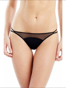 Addiction Nouvelle Lingerie - Basic Collection - Thong - Black / Xs - Panty Lingerie Theory Lingerietheory.com