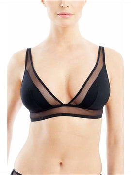 Addiction Nouvelle Lingerie - Basic Collection - Triangular Bra - Black / Xs - Bra Lingerie Theory Lingerietheory.com