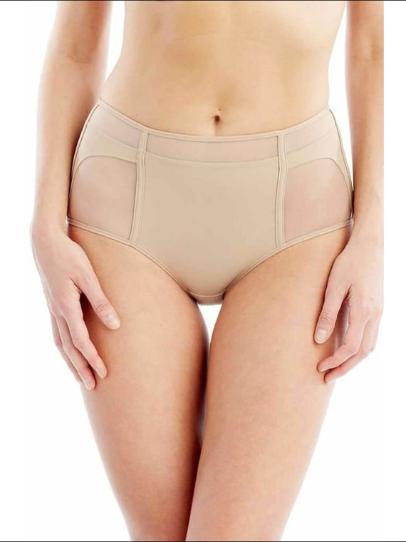 Addiction Nouvelle Lingerie Collection Basic High Waisted Panty - Nude / Xs - Panty Lingerie Theory Lingerietheory.com