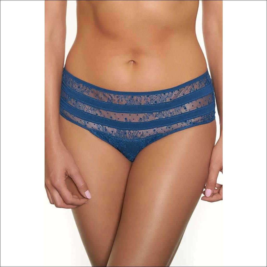 Collection Blue Lagoon Shorty - Blue / S - Bottom Lingerie Theory Lingerietheory.com