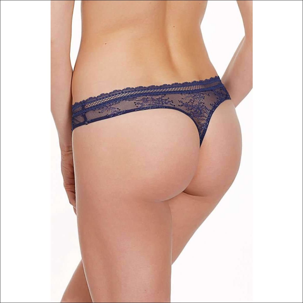 Collection Burlesque Thong - Bottom Lingerie Theory Lingerietheory.com
