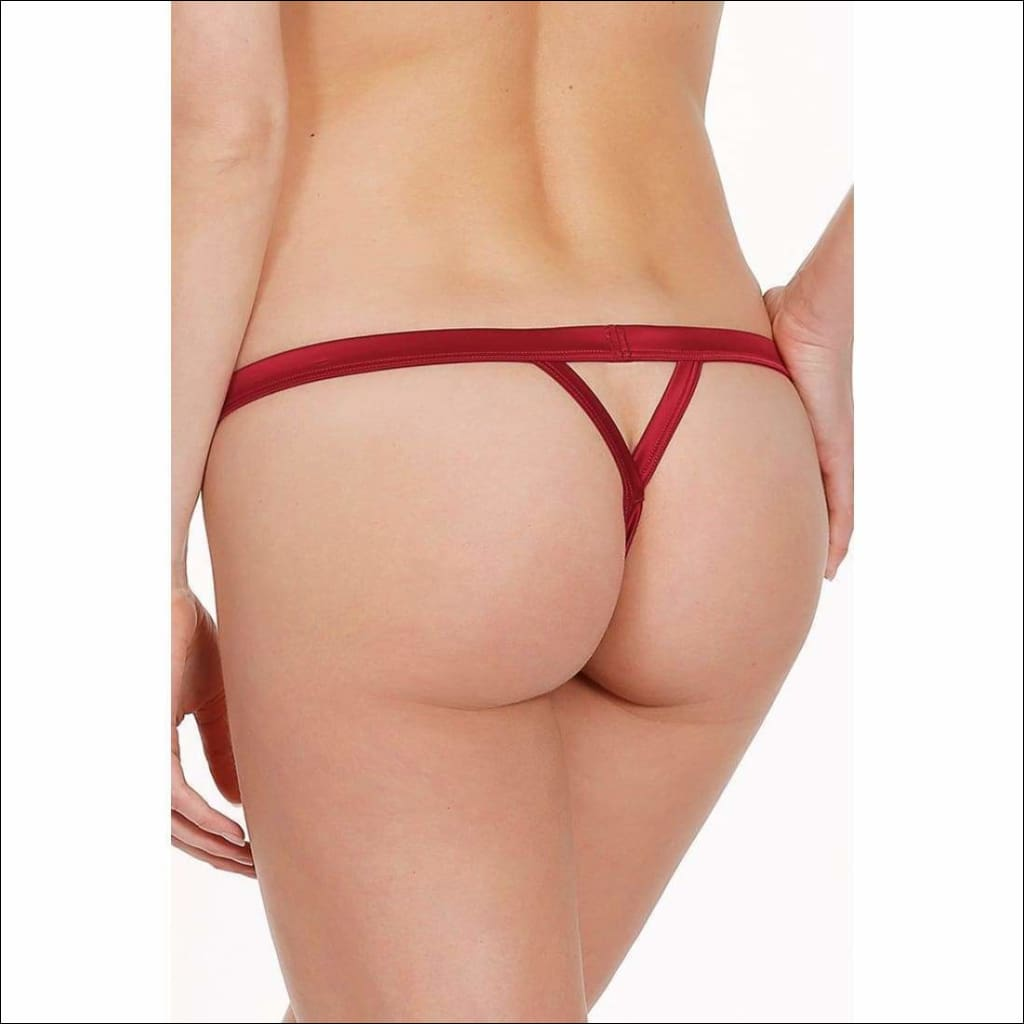 Collection Cabaret Thong - Bottom Lingerie Theory Lingerietheory.com