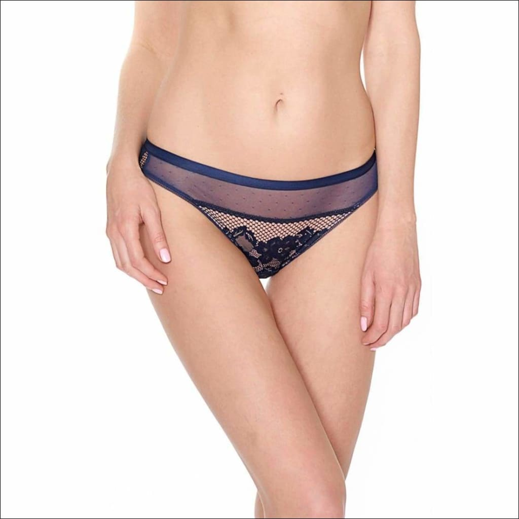 Collection Casablanca - Bikini - Blue / Xs - Bottom Lingerie Theory Lingerietheory.com