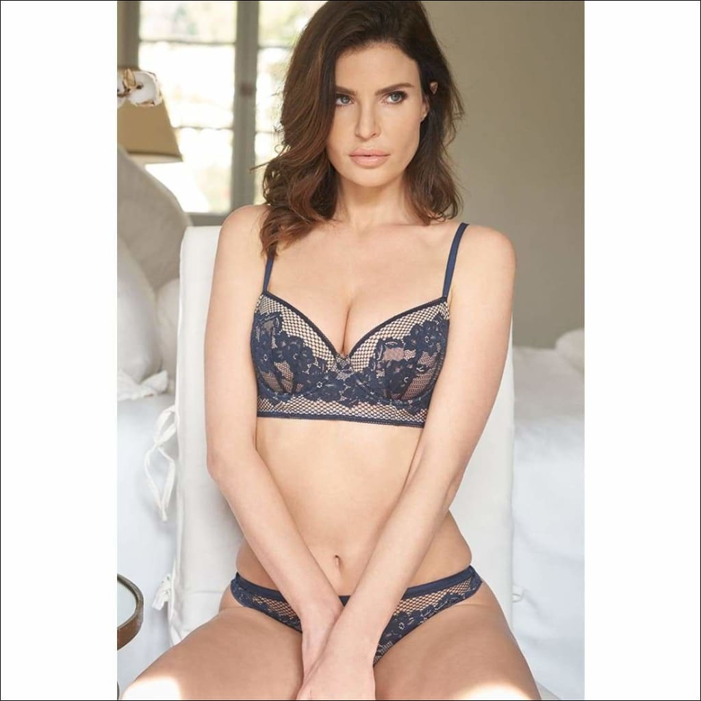 Collection Casablanca - Padded Bra - Bra Lingerie Theory Lingerietheory.com