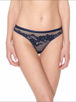 Collection Casablanca - Thong - Blue / S - Bottom Lingerie Theory Lingerietheory.com