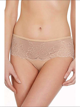 Collection Confidente Shorty - Skin / S - Bottom Lingerie Theory Lingerietheory.com