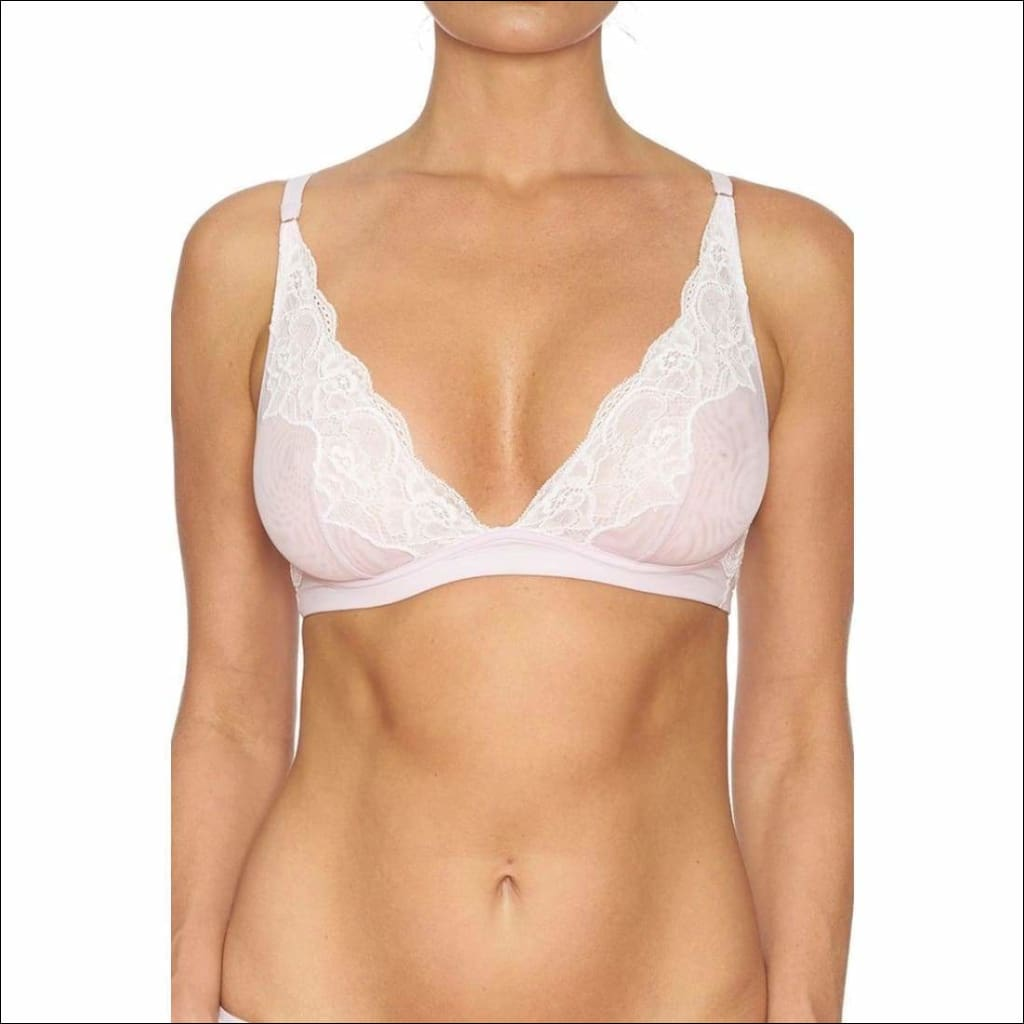 Collection Cotton Candy Triangular Bra - Lilac / Xs - Bra Lingerie Theory Lingerietheory.com