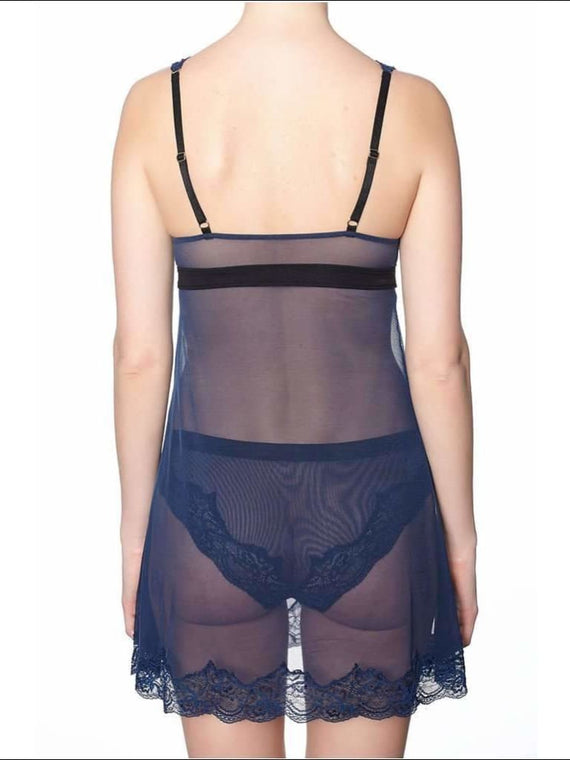 Collection Fleur De Nuit Babydoll - Babydoll Lingerie Theory Lingerietheory.com