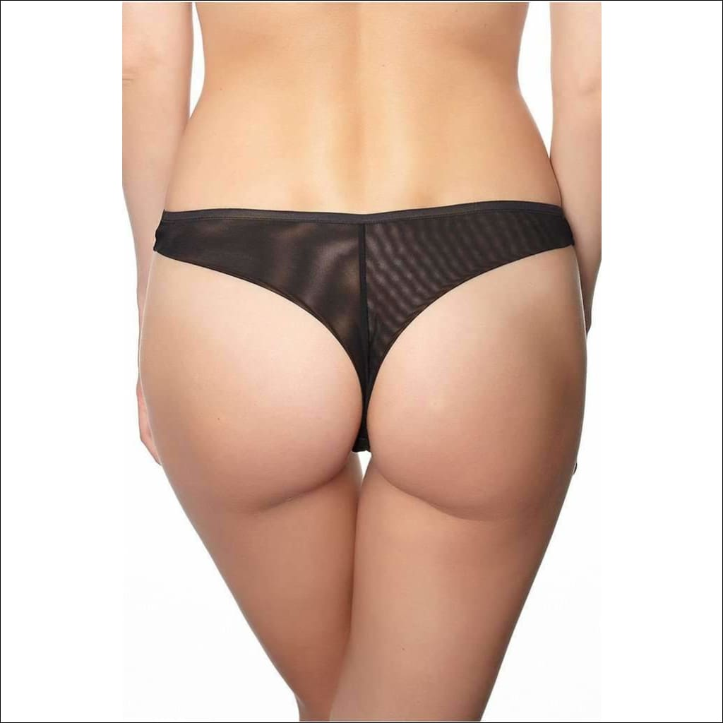 Collection Flock Thong - Bottom Lingerie Theory Lingerietheory.com