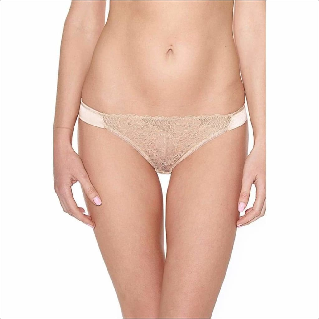 Collection Gone With The Wind - Brazilian Panty - Beige / Xs - Bottom Lingerie Theory Lingerietheory.com