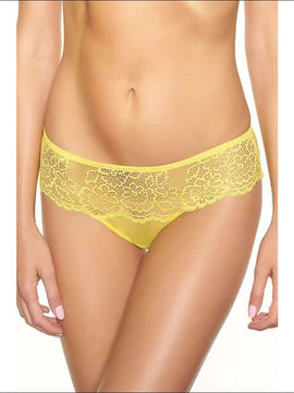Collection Lemon Drop Tanga - Yellow / Xs - Bottom Lingerie Theory Lingerietheory.com