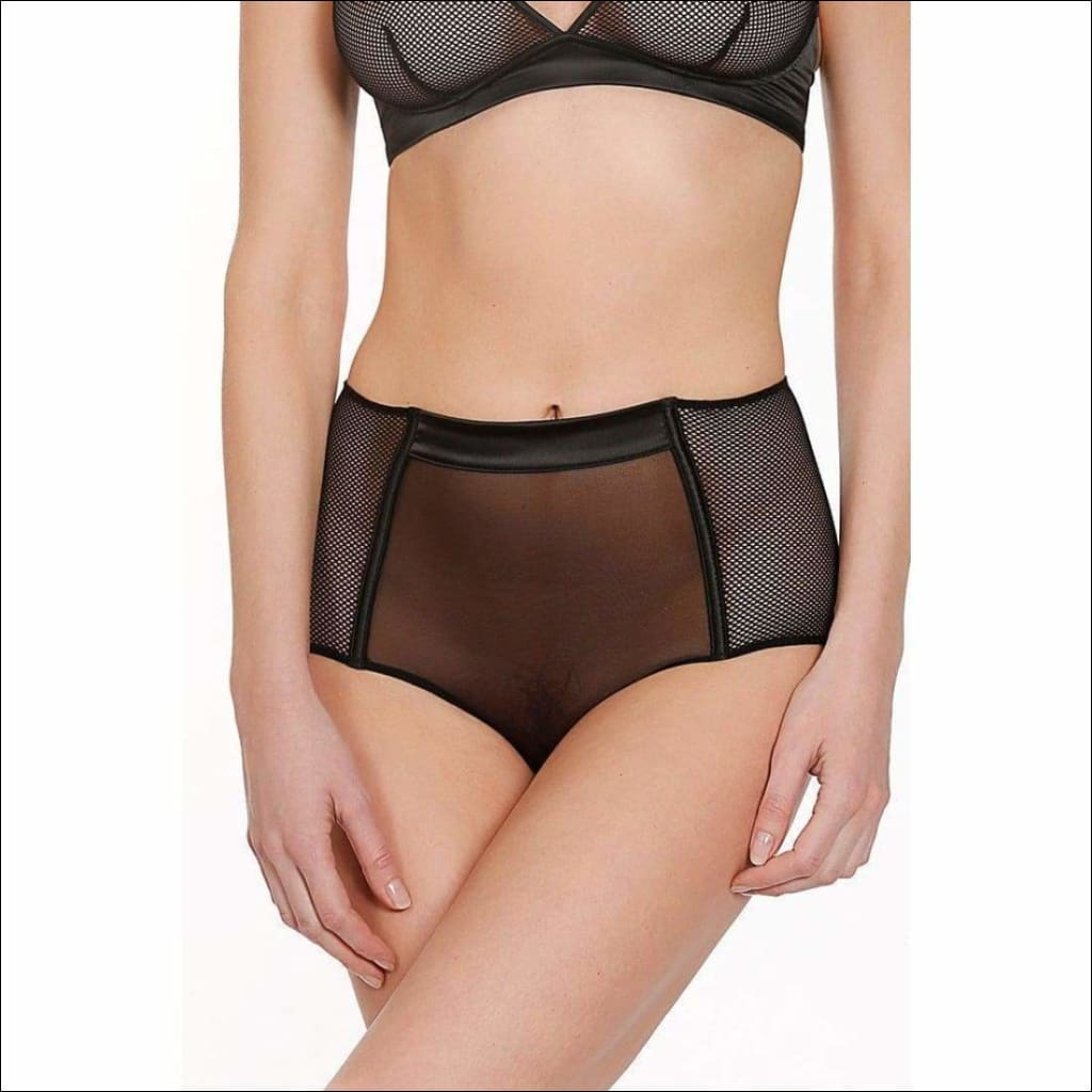 Collection Libertine Highwaist Panty - Bottom Lingerie Theory Lingerietheory.com