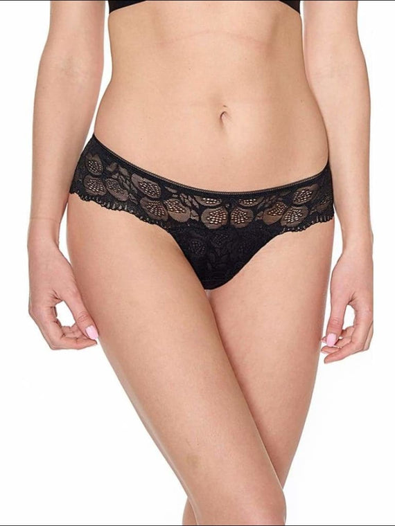 Collection Love Is On The Air - Tanga - Black / Xs - Bottom Lingerie Theory Lingerietheory.com