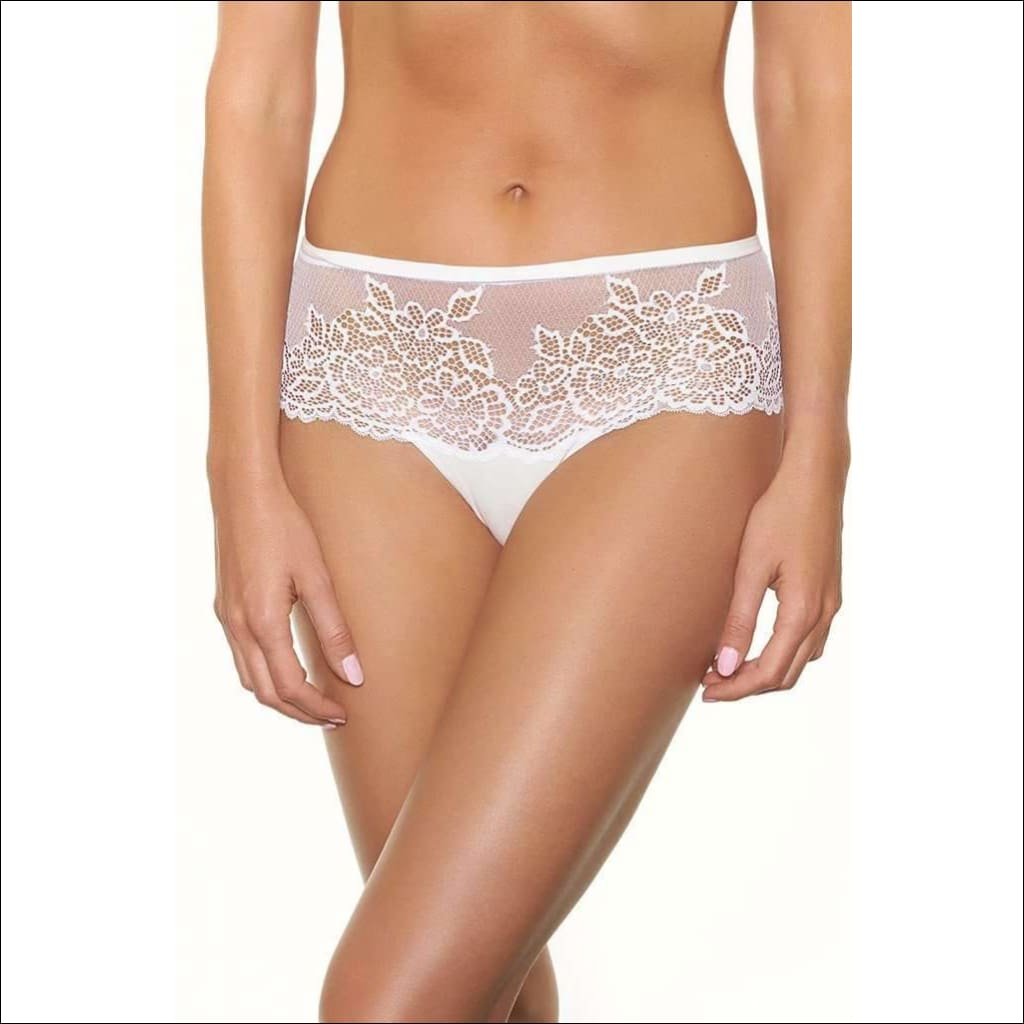 Collection Martini Shorty - White / Xs - Bottom Lingerie Theory Lingerietheory.com