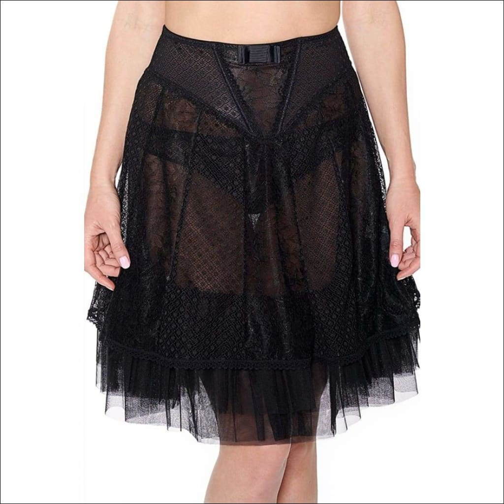 Collection Night At The Opera - Tutu - Black / S - Bottom Lingerie Theory Lingerietheory.com