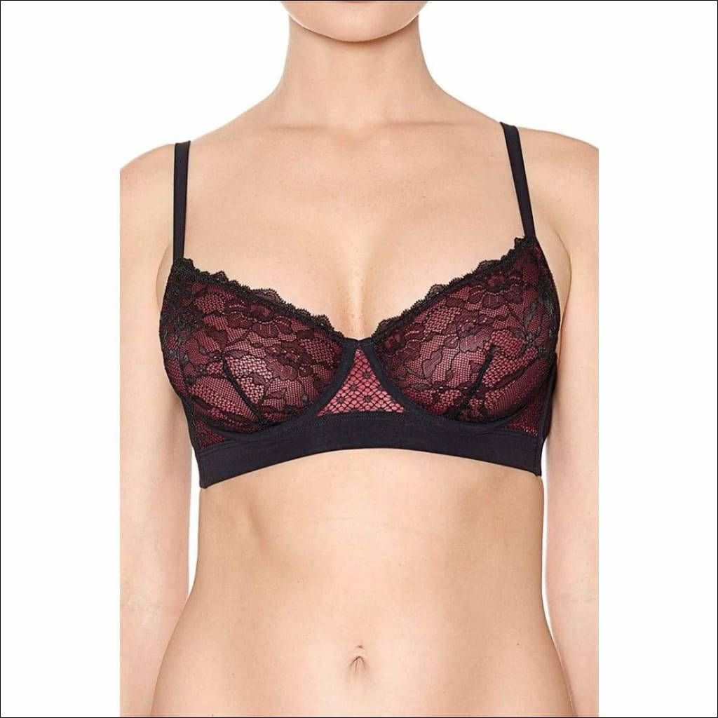 Collection Night At The Opera - Underwire Bra - Black / 32B - Bra Lingerie Theory Lingerietheory.com
