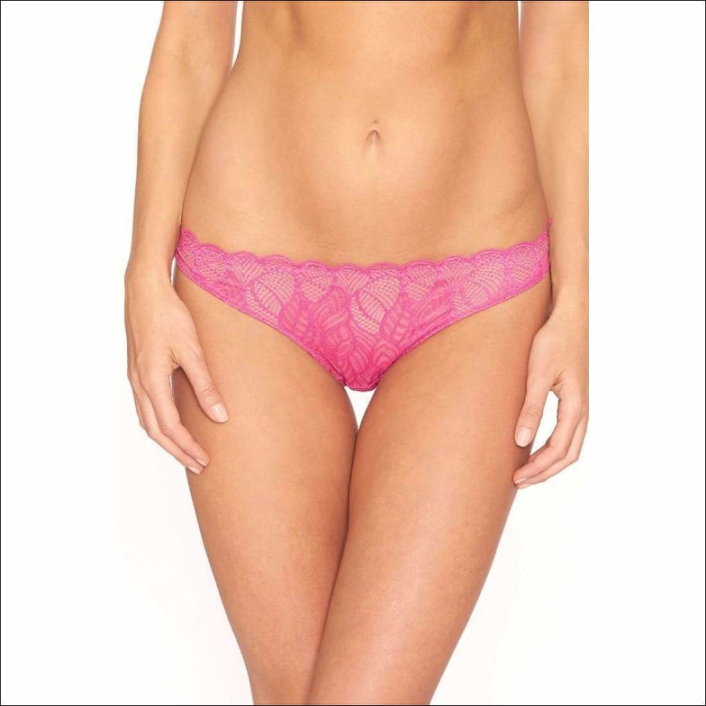 Collection Pixi Sticks Thong - Pink-Fuchsia / Xs - Bottom Lingerie Theory Lingerietheory.com