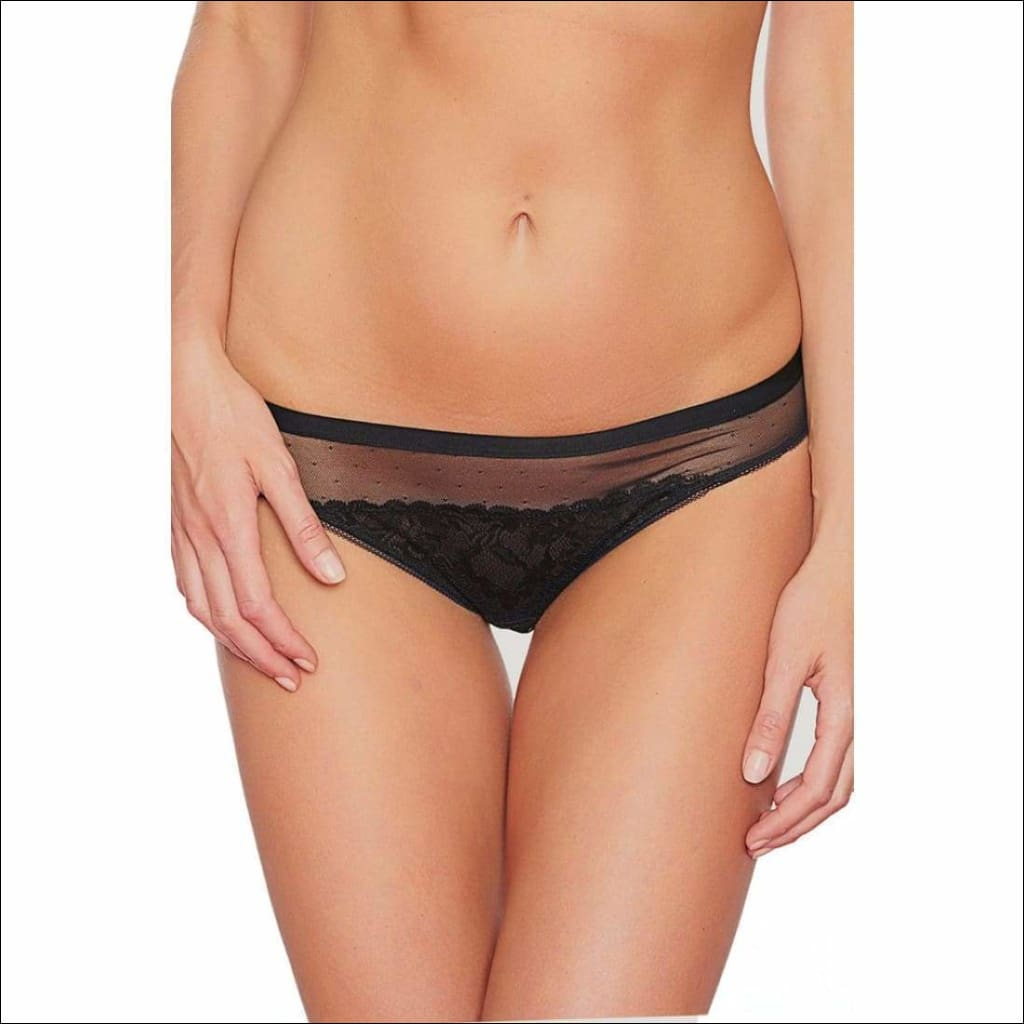 Collection Pop Rocks Bikini - Black / Xs - Bottom Lingerie Theory Lingerietheory.com
