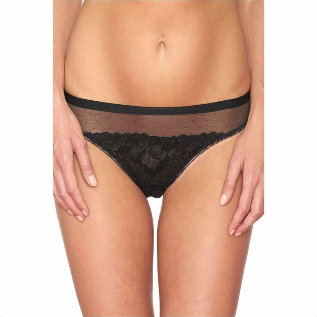 Collection Pop Rocks Tanga - Black / Xs - Bottom Lingerie Theory Lingerietheory.com