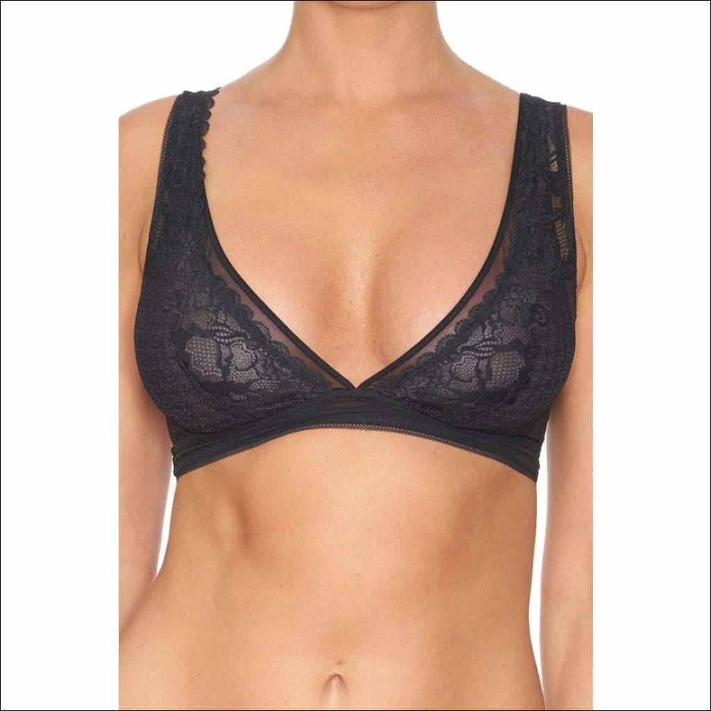 Collection Pop Rocks Triangle Bra - Black / Xs - Bra Lingerie Theory Lingerietheory.com