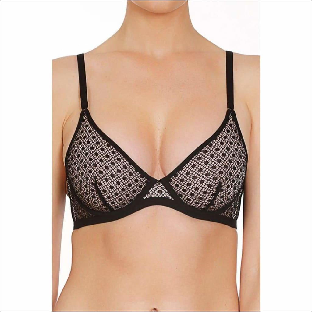 Collection Rendez-Vous Underwire Bra - Black / 32B - Bra Lingerie Theory Lingerietheory.com