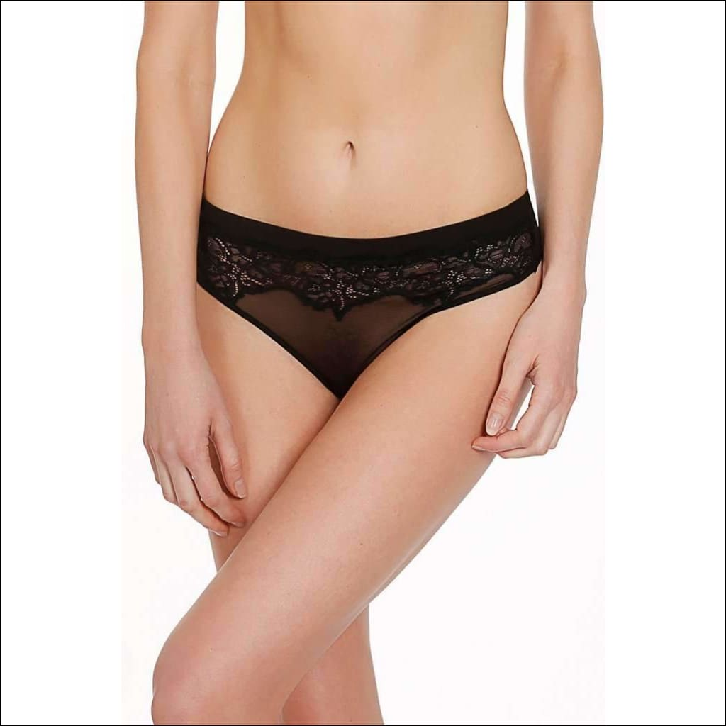 Collection Seductrice Thong - Black / Xs - Bottom Lingerie Theory Lingerietheory.com