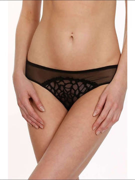 Collection Sonia Bikini - Black / S - Bottom Lingerie Theory Lingerietheory.com