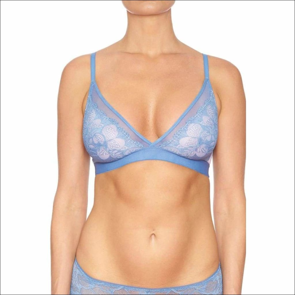 Collection Sweethearts Triangle Bra - Blue / Xs - Bra Lingerie Theory Lingerietheory.com