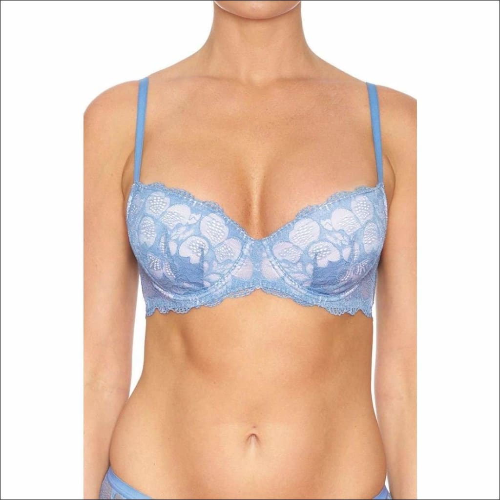 Collection Sweethearts Underwire Bra - Blue / 34B - Bra Lingerie Theory Lingerietheory.com