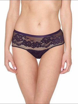 Collection Swing Time - Shorty - Aubergine / Xs - Bottom Lingerie Theory Lingerietheory.com