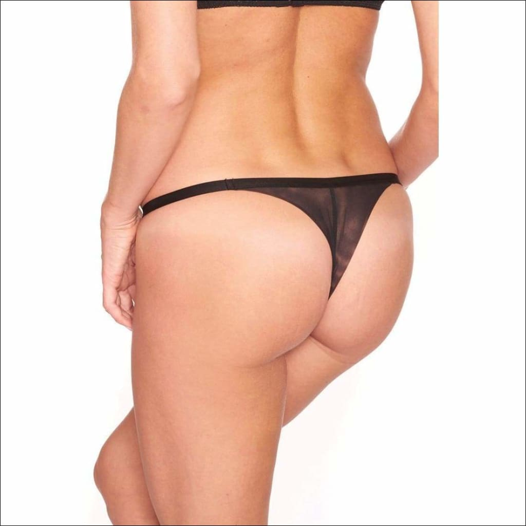 Collection Tootsie Roll Thong - Bottom Lingerie Theory Lingerietheory.com