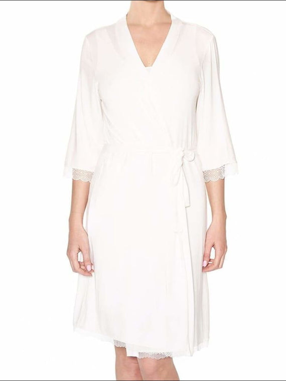 Douceur Dream Robe - Ivory / Xs - Robe Lingerie Theory Lingerietheory.com