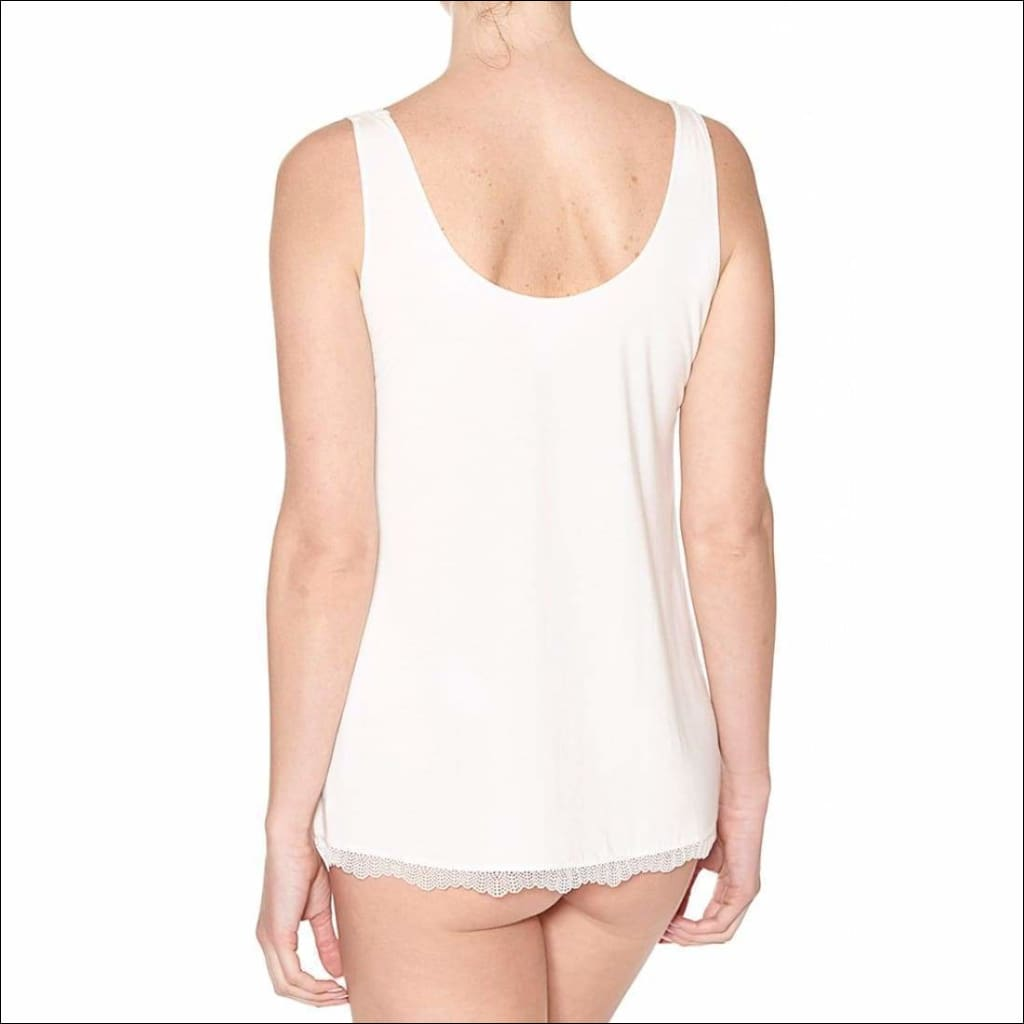 Douceur Dream Tank Top - Top Lingerie Theory Lingerietheory.com