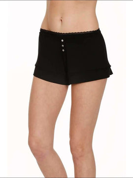 Lace Collection Shorts - Black / Xs - Shorts Lingerie Theory Lingerietheory.com