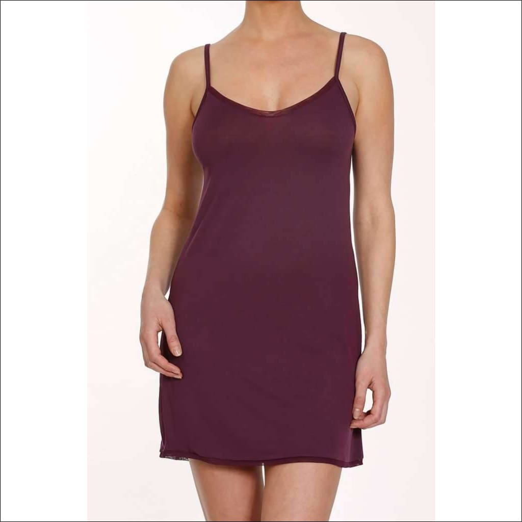 Plum Collection Camisole Dress - Plum / Xs - Camisole Lingerie Theory Lingerietheory.com