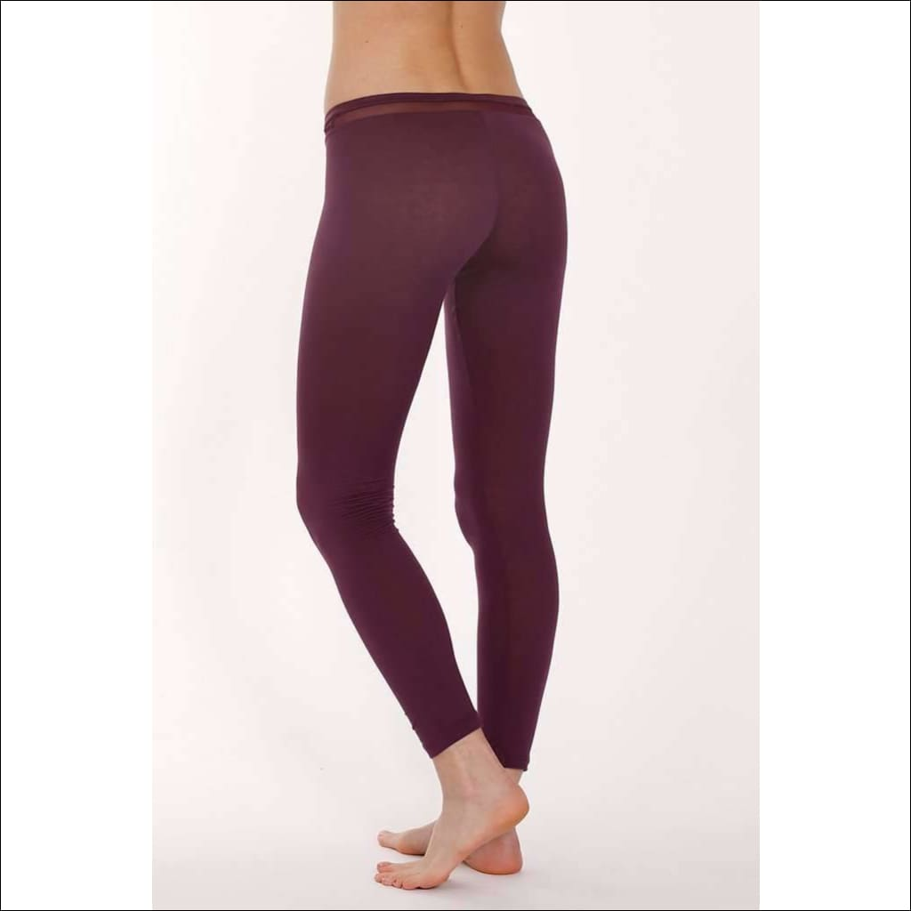 Plum Collection Leggings - Leggings Lingerie Theory Lingerietheory.com