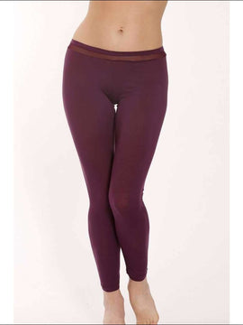 Plum Collection Leggings - Plum / Xs - Leggings Lingerie Theory Lingerietheory.com