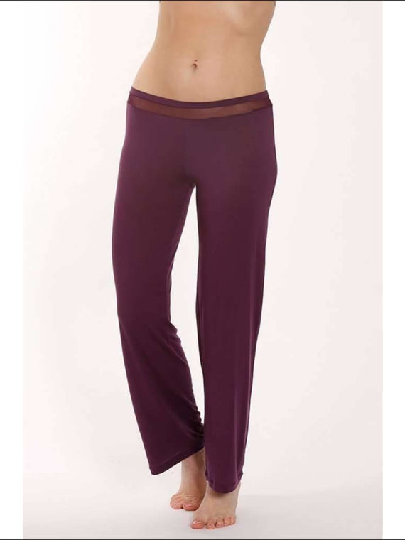 Plum Collection Pants - Plum / Xs - Pants Lingerie Theory Lingerietheory.com