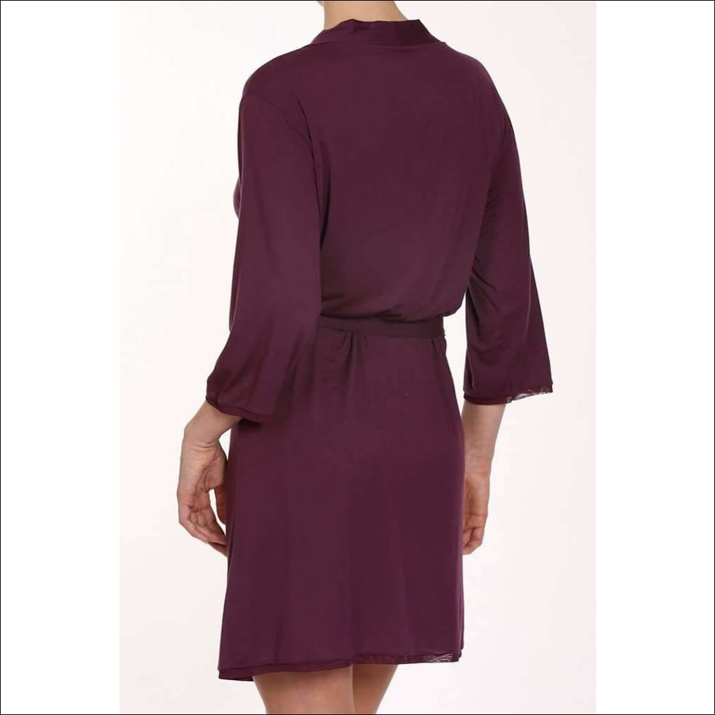 Plum Collection Robe - Robe Lingerie Theory Lingerietheory.com