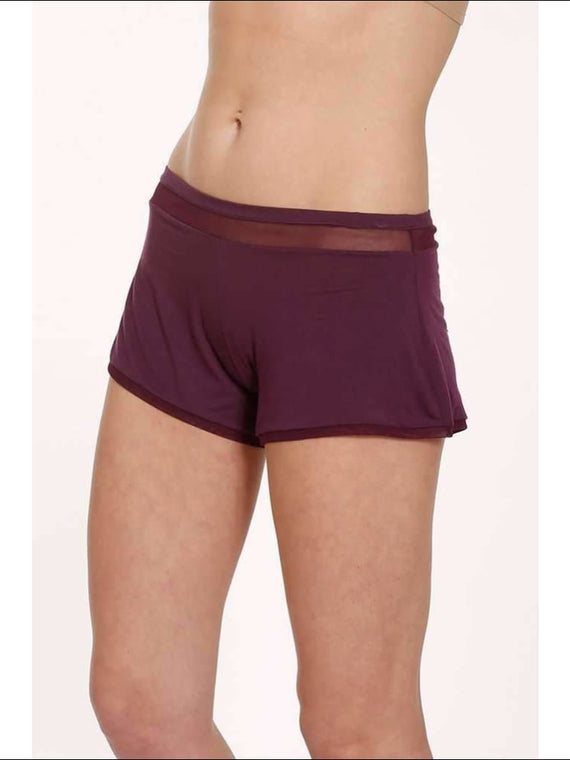 Plum Collection Shorts - Shorts Lingerie Theory Lingerietheory.com