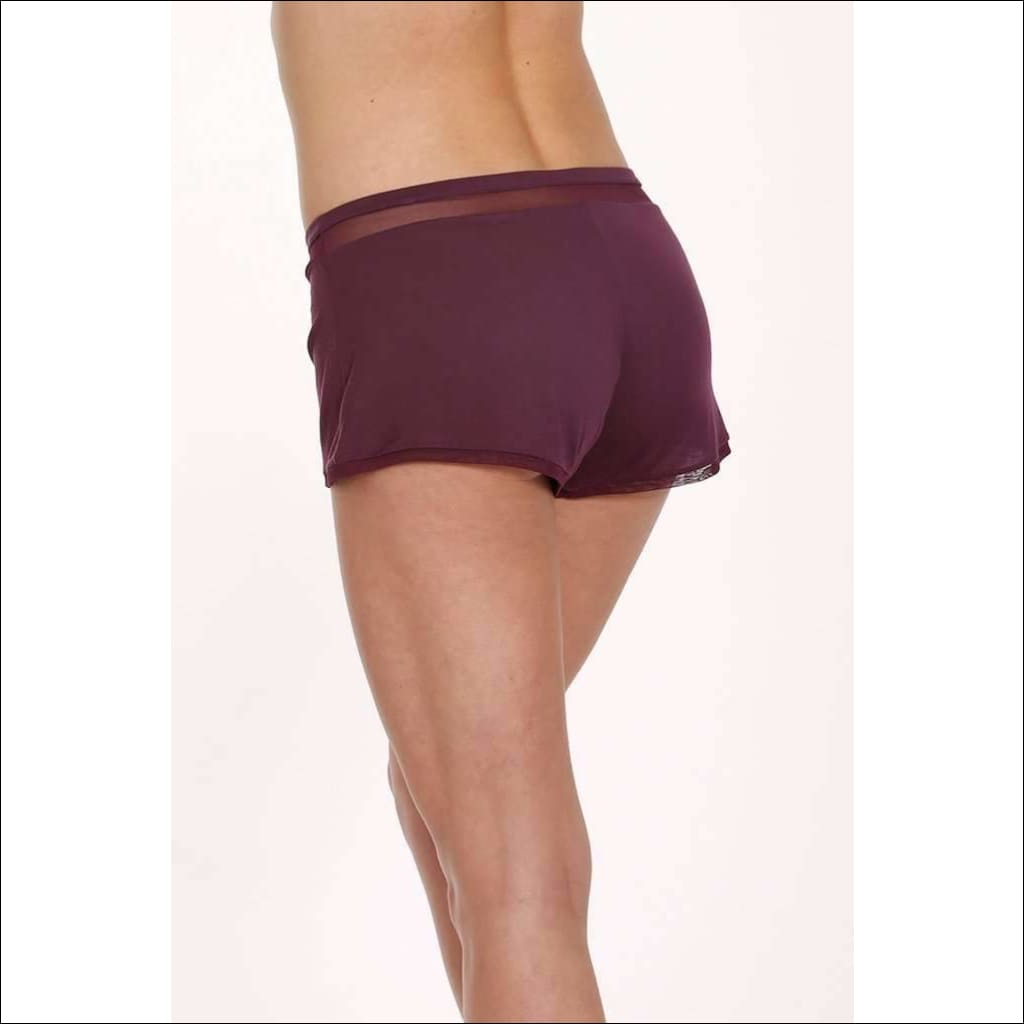 Plum Collection Shorts - Plum / Xs - Shorts Lingerie Theory Lingerietheory.com