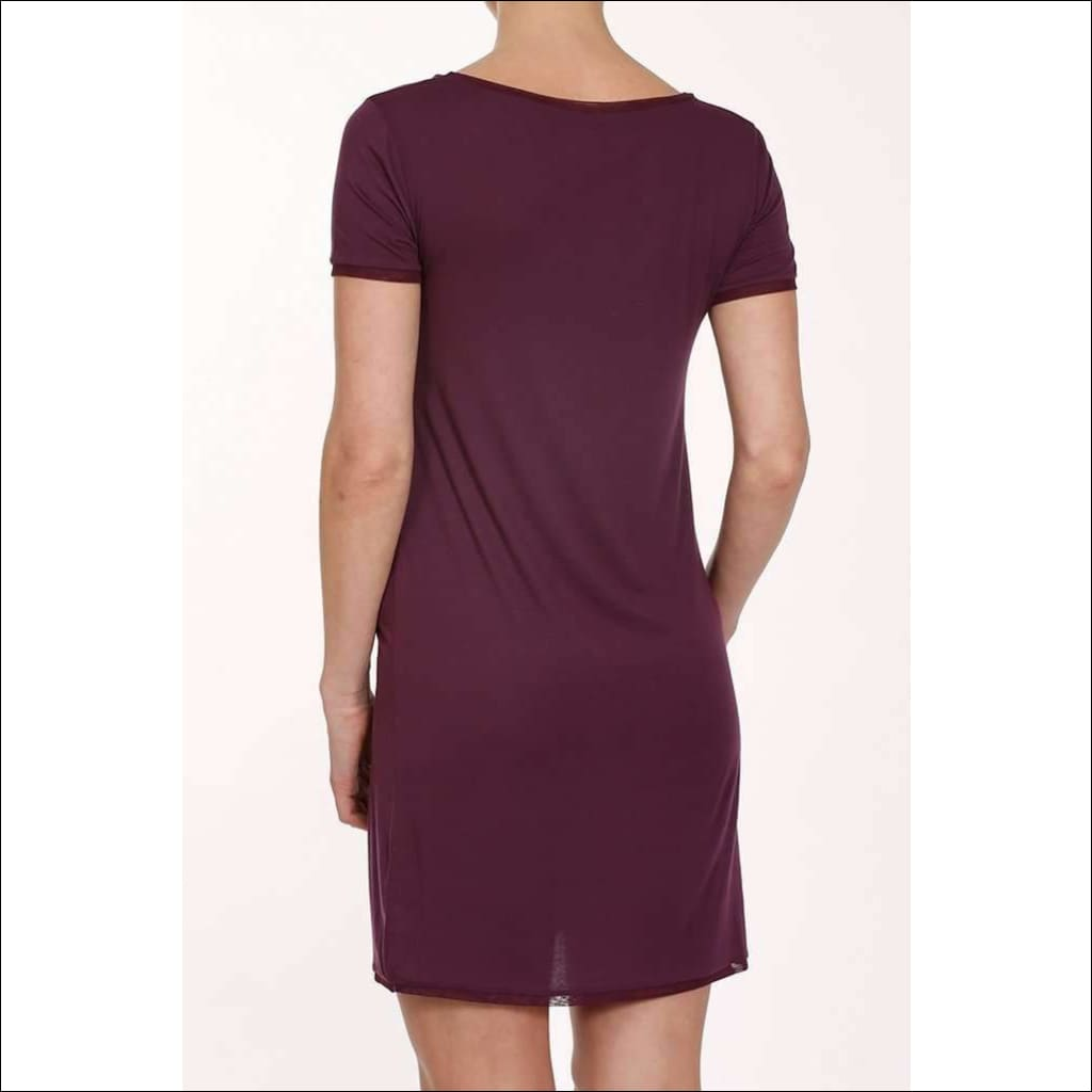 Plum Collection T-Shirt Dress - Dress Lingerie Theory Lingerietheory.com