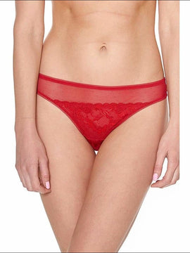 Too Hot To Handle Tanga - Red / Xs - Bottom Lingerie Theory Lingerietheory.com