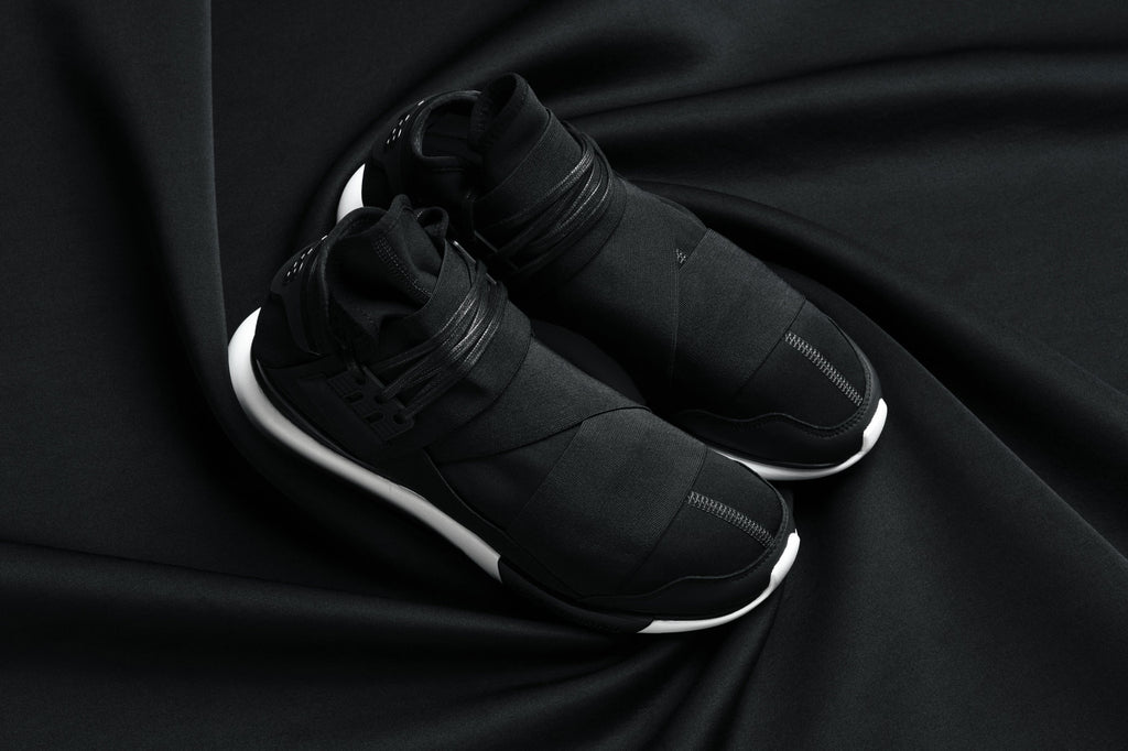 Y-3 Qasa High Black and White
